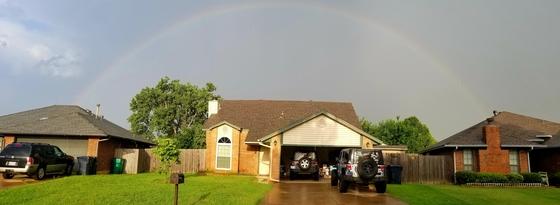 NW OKC Sunday morning storm