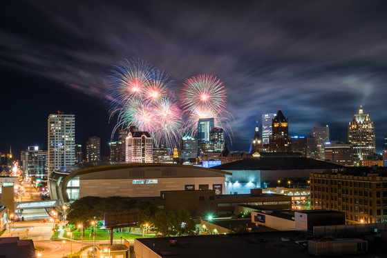 Milwaukee 3rd of July Fireworks