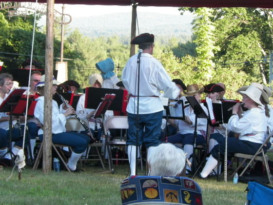 Happy fourth of July. Temple town band. My ancestors fought in the revolution.