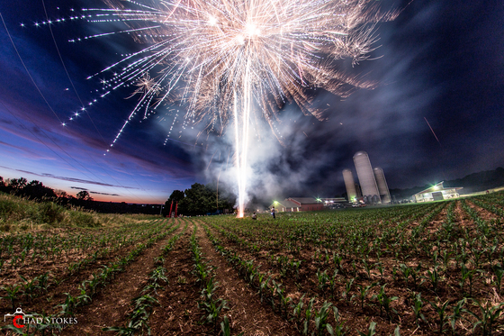 Krall Farm Annual Fireworks Display - July 6th, 2018