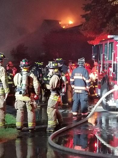 Fire in OOB Cascade Road