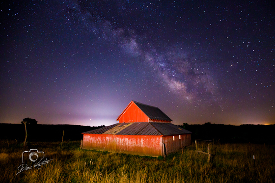 Milky Way in Clarke County - Photo by Dave Austin