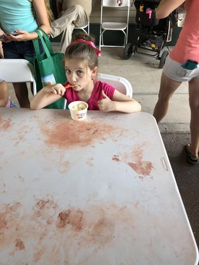 Mooremon house Ice cream contest