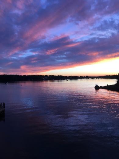 Sunset over Cape Ann Gloucester