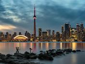 4b. Toronto skyline