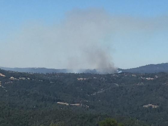 Fire in Coloma area