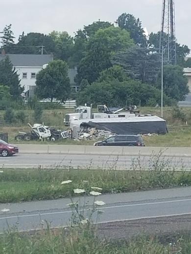 Crash on 222 southbound