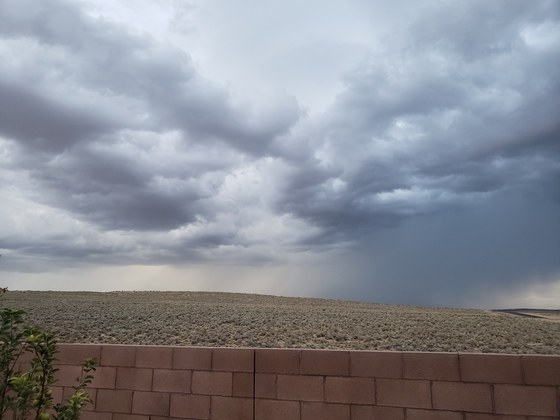Rio Rancho Storm Clouds