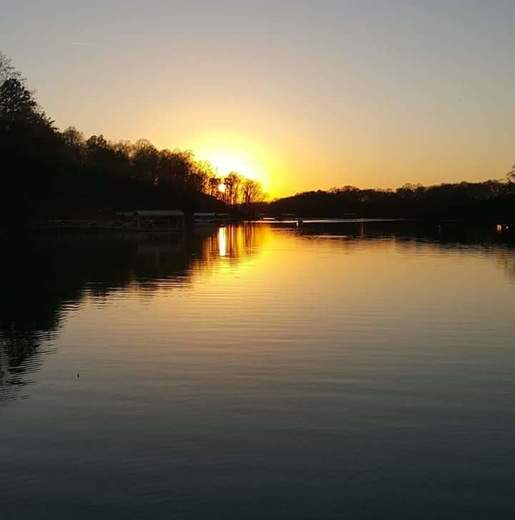 Sunset at Abernathy Park, Clemson S.C.