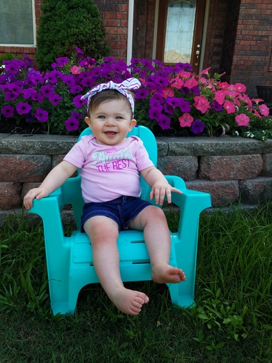 Clara Kate Schoggin 10 months