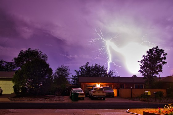 Massive Lightning strike