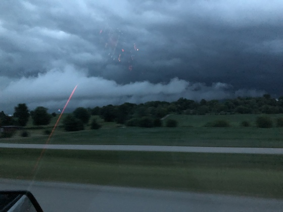 Here comes the storm!