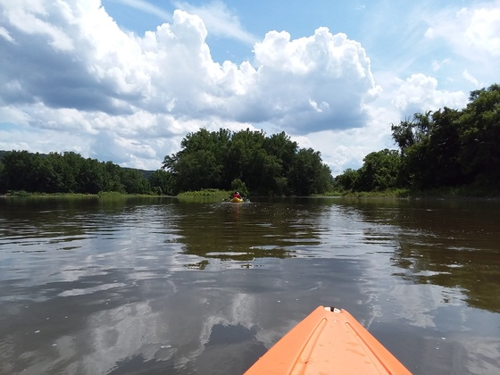 Kayaking the Chenango