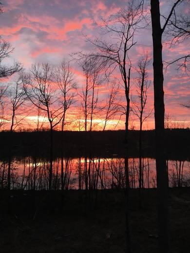 Sunrise Over Lake Anna