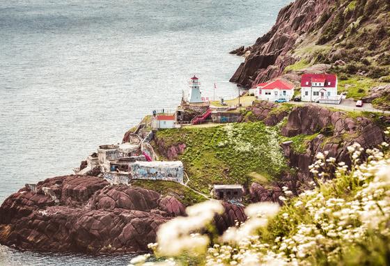 Lighthouse Under Signal Hill