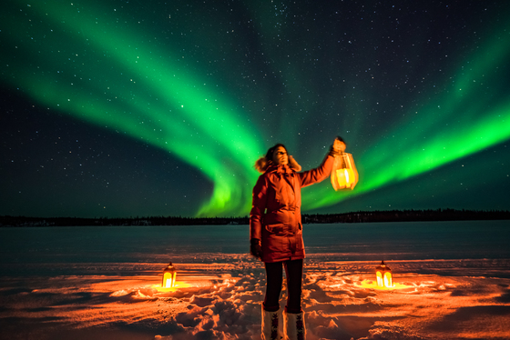 Search for the Aurora
