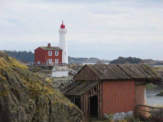 Fisgard Lighthouse Historic Lighthouse