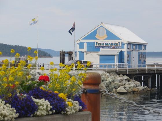 The Fish Market, Sidney Pier, Sidney B.C.