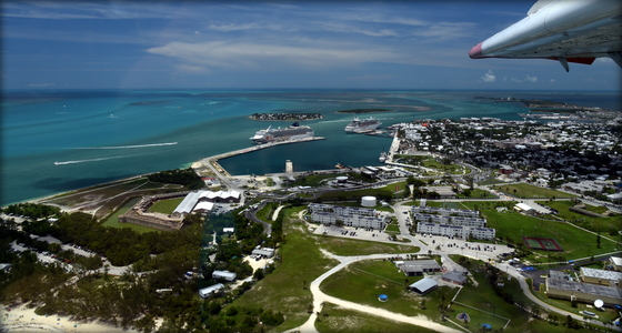 Bird's Eye View Fort Zachary Key West