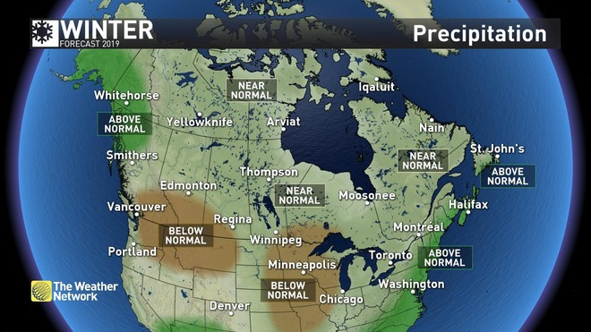 Map Of Canada Vancouver Toronto.News 2019 Forecast Update Winter Locks In For Next Two Months