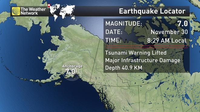 Image result for View Photos A magnitude-7 quake occurred around 8:30 a.m., local time, with the epicenter just north of Anchorage.