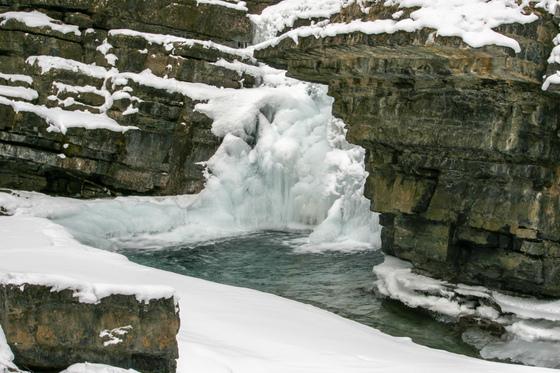 Winter in the Rockies