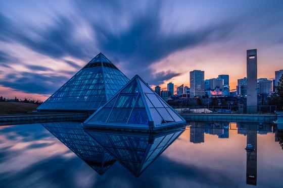 3a. Edmonton sunset