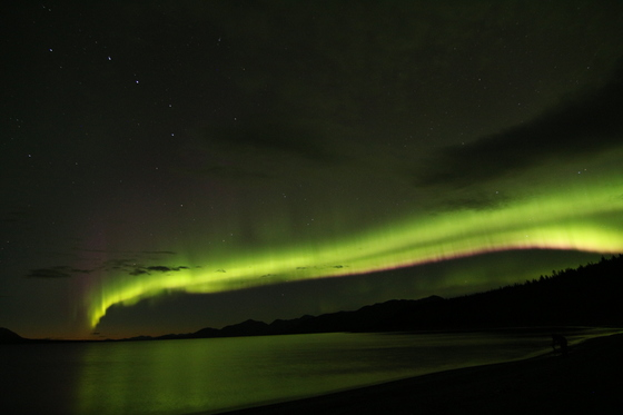 Northern Lights Over Kluane Lake, Yukon