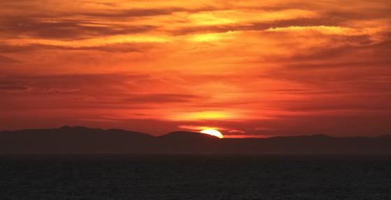 Sunset in Newfoundland