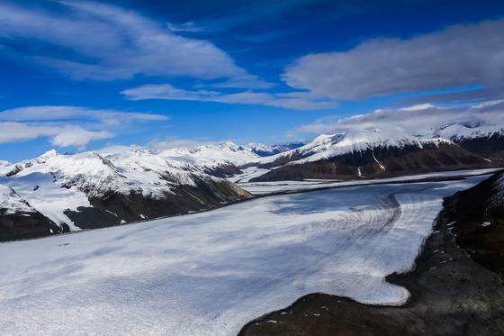 Glacier of Kluane National Park