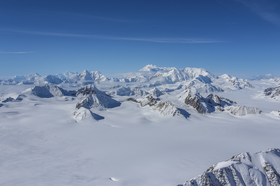 High Above the Mountains of Kluane National Park