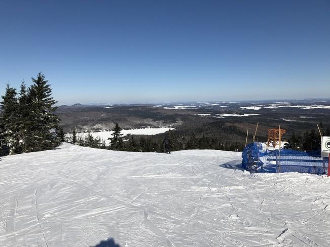 Adstock aujourd'hui Ski mont Adstock QC