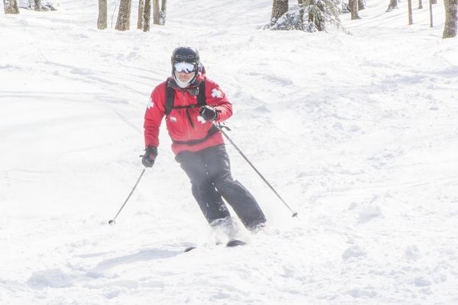 Ski hivernal Sutton, QC