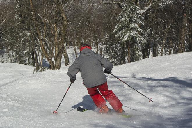 Magnifique journee de ski Sutton, QC
