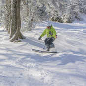 Magnifique journee de ski