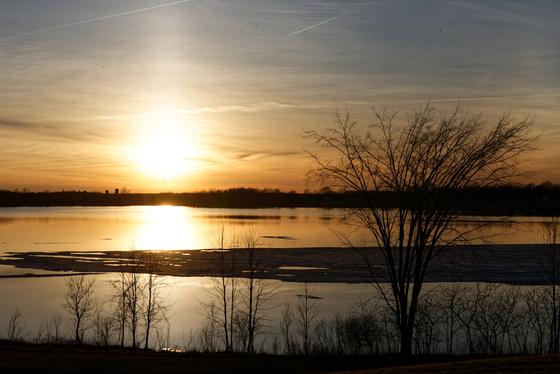Long Sault Parkway Sunset