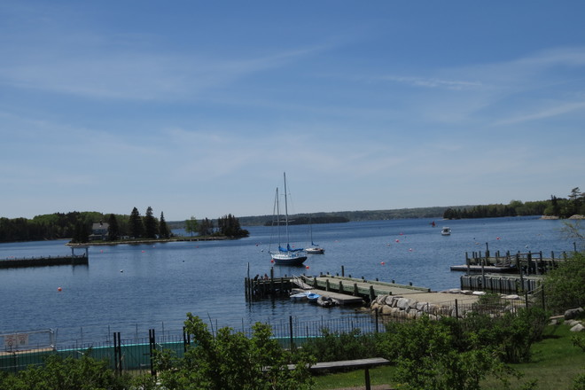 Chester Back Harbour on a Sunny Day Chester, Nova Scotia