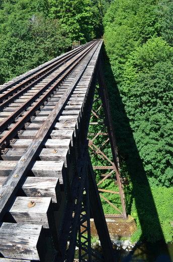 Abandoned Railway Trestle