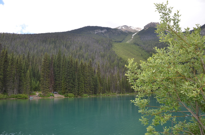 Emerald Lake on Canada Day 2019 Field, BC