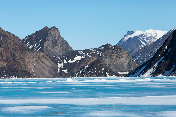 Baffin Island , Mountains