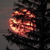 Coucé de soleil du 10 juillet