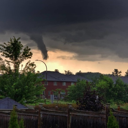 funnel clouds over Ancaster Ancaster, ON