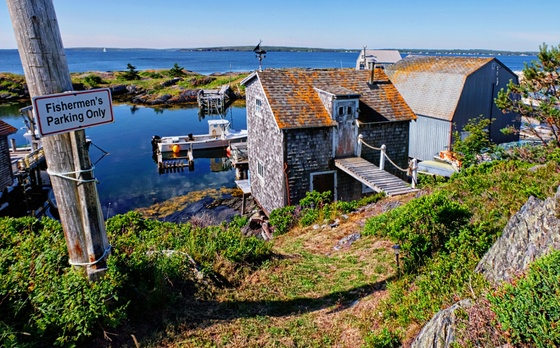 Fishing Village, Blue Rocks, NS