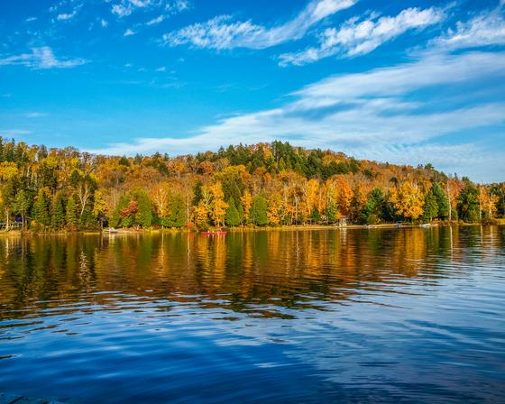 Fall in Algonquin Provincial Park