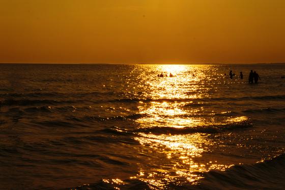 Sunset at the Sandbanks, Prince Edward County, ON