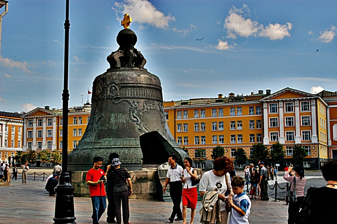 Worlds Largest Bell Moscow, Russia
