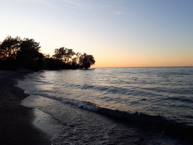 lake ontario fall sunset Cambridge, ON