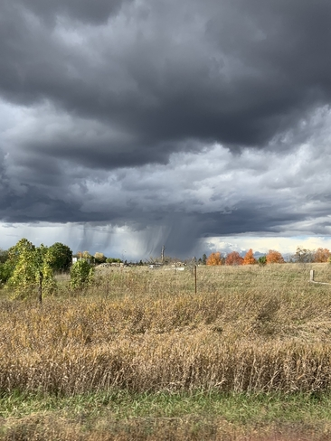 Storm in the country Kawartha Lakes, Ontario, CA
