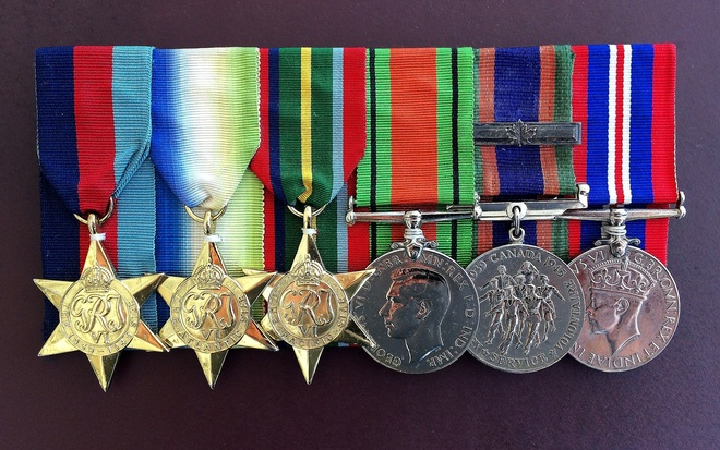 CANADIAN WAR SERVICE MEDALS West Vancouver, BC