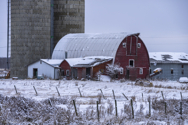 Old Barn S.W. of Camrose